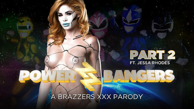 Jessa Rhodes, Katrina Jade – Power Bangers XXX Parody Part 2