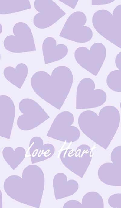 Love Heart -PURPLE-