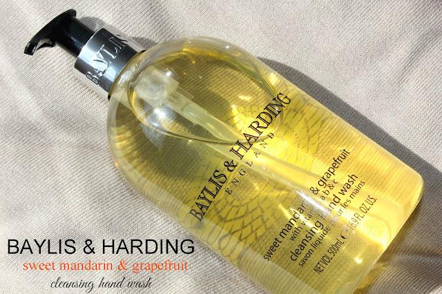 Отзыв: Покупки в интернет-магазине Fragrancedirect.co.uk. Жидкое мыло для рук «Сладкий мандарин и грейпфрут» - Baylis & Harding Sweet Mandarin & Grapefruit.