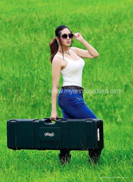 Hot Myanmar Actress Shwe Poe Eain