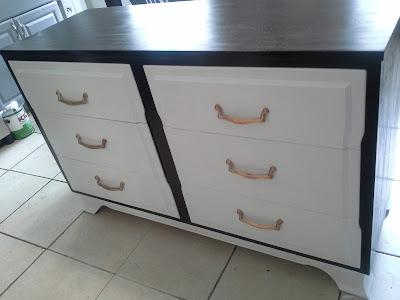 mid century modern white kona stain rustoleum grey dresser brass pulls