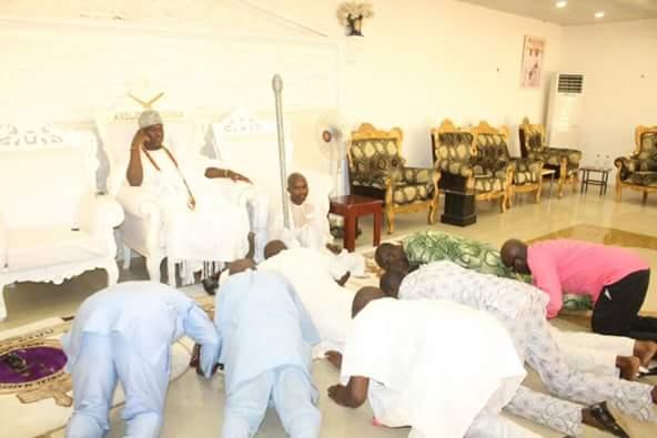 pdp leaders begs ooni ife omisore
