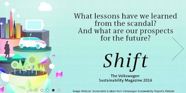 "PR | Volkswagen presents Group sustainability report and new sustainability magazine ""Shift"""