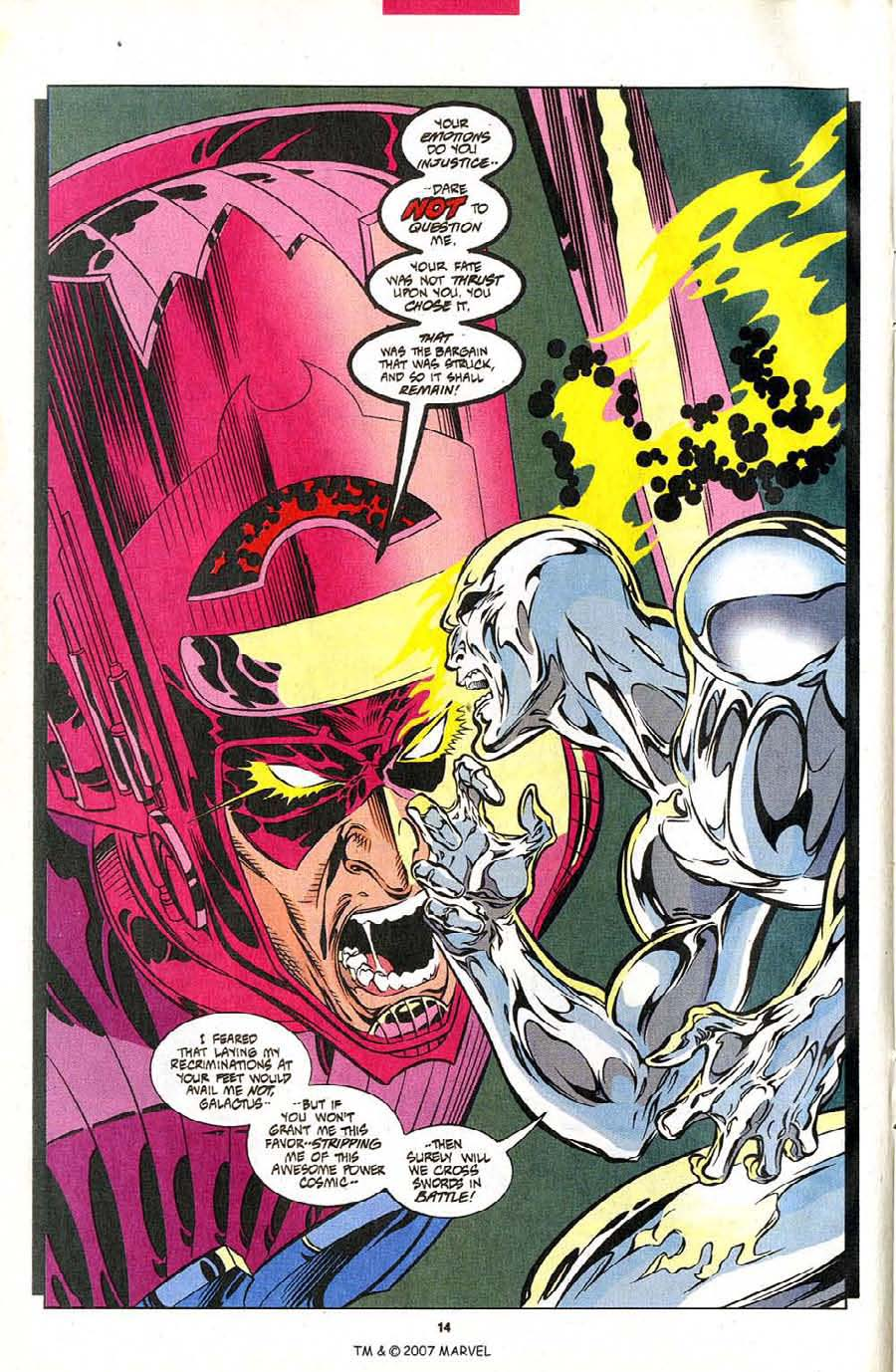 Read online Silver Surfer (1987) comic -  Issue #102 - 16
