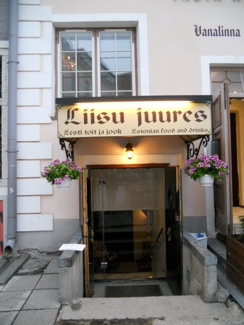 Liisu Juures restaurant in Tallinn, Estonia