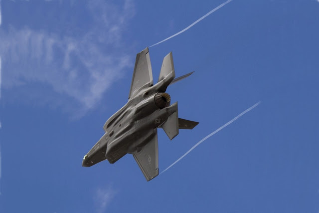 Italian F-35 pilots Red Flag