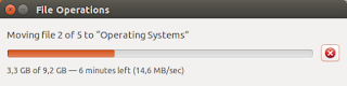 14.6 MB/s write speed to HDD