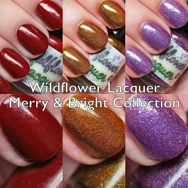 Wildflower Lacquer Merry & Bright Collection