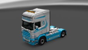 Ice Lady Skin for Scania RJL