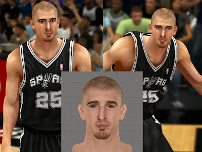 NBA 2K14 Nando de Colo Cyberface Patch