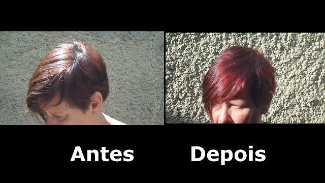 cabelo ruivo e vermelho
