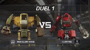The Giant Robot Duel, Pertarungan Robot Raksasa Di Dunia Nyata