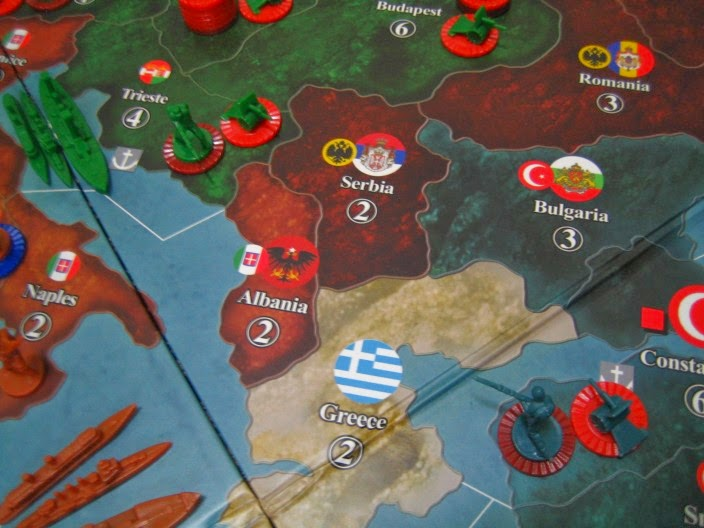 Hiew's Boardgame Blog: Axis and Allies 1914 (World War I)