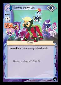 My Little Pony Power Pony Up! High Magic CCG Card