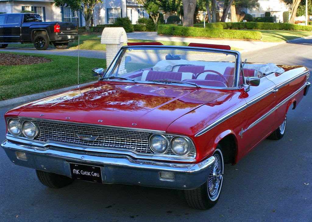 All American Classic Cars: 1963 Ford Galaxie 500 Sunliner