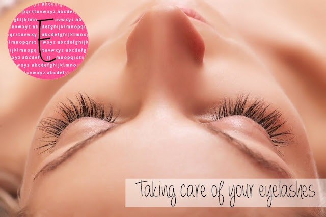 Taking care of your eyelashes