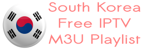 South Korea SBS KBS Free IPTV M3U Playlist