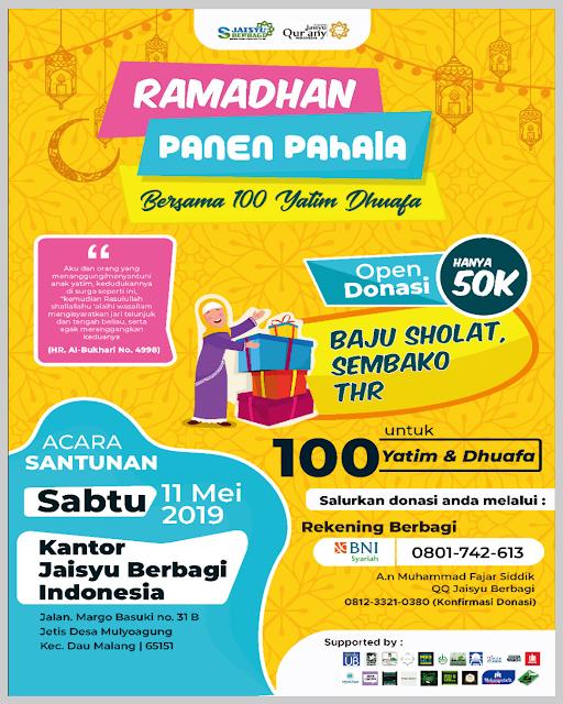 Ramadhan Panen Pahala
