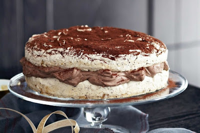 Chocolate and hazelnut meringue gateau desserts recipes