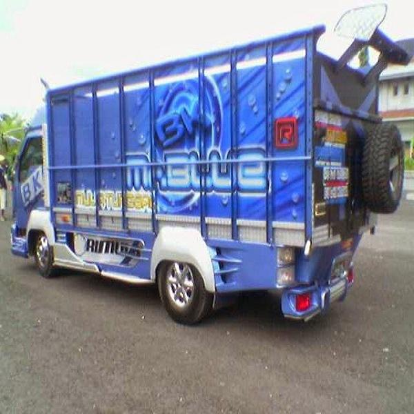 Gambar foto gambar full variasi truk canter terbaru ...