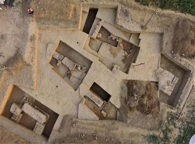 4,000-year-old coffin burials, furnaces and other artefacts unearthed at Sanauli