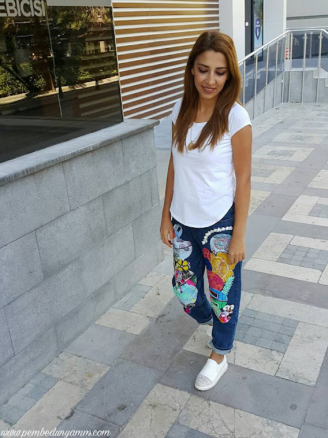 mom jeans kombinleri
