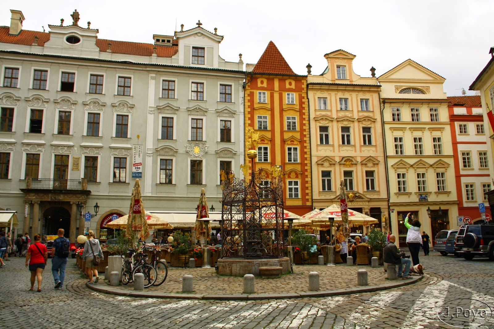 Barrio Judío De Praga La Ciudad Vieja Y La Nueva
