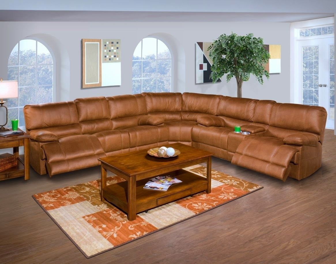 Parker 2 Piece Sofa And Loveseat In Brown Furniture Covers For Sectional Sofas The Best Reclining Ratings Reviews: Barton 6-pc ...