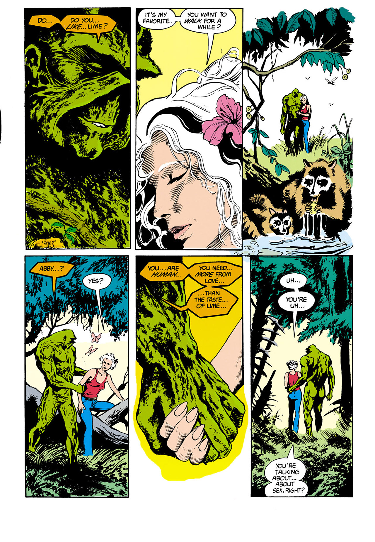 Swamp Thing (1982) Issue #34 #42 - English 9