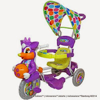 Sepeda Roda Tiga Royal RY8588C Baby Ball Dobel Musik