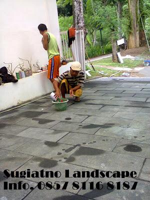 jasa pembuatan lantai carport garasi mobil tukang