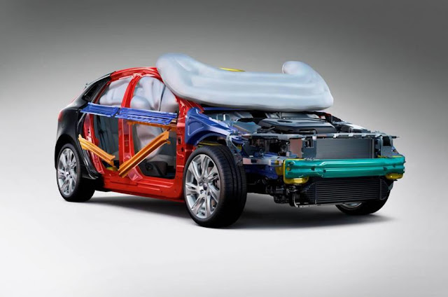 Volvo Introduces V40 World's First Pedestrian Airbag