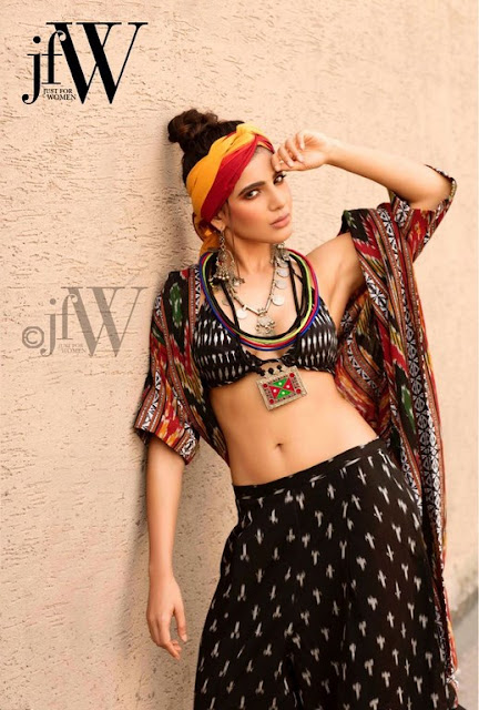 Actress Samantha Hot Photo Shoot For JFW Magazine