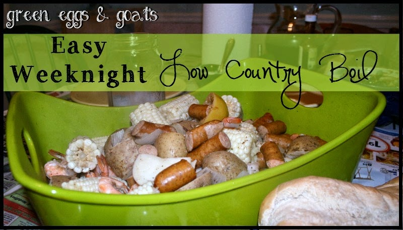 Low Country Boil Recipe Green Eggs Goats