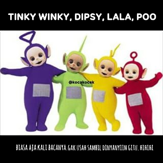 Meme Lucu Teletubbies