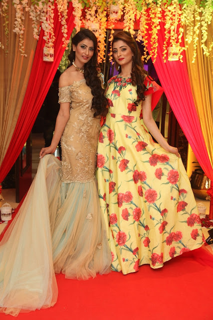Models wearing Asma Gulzar