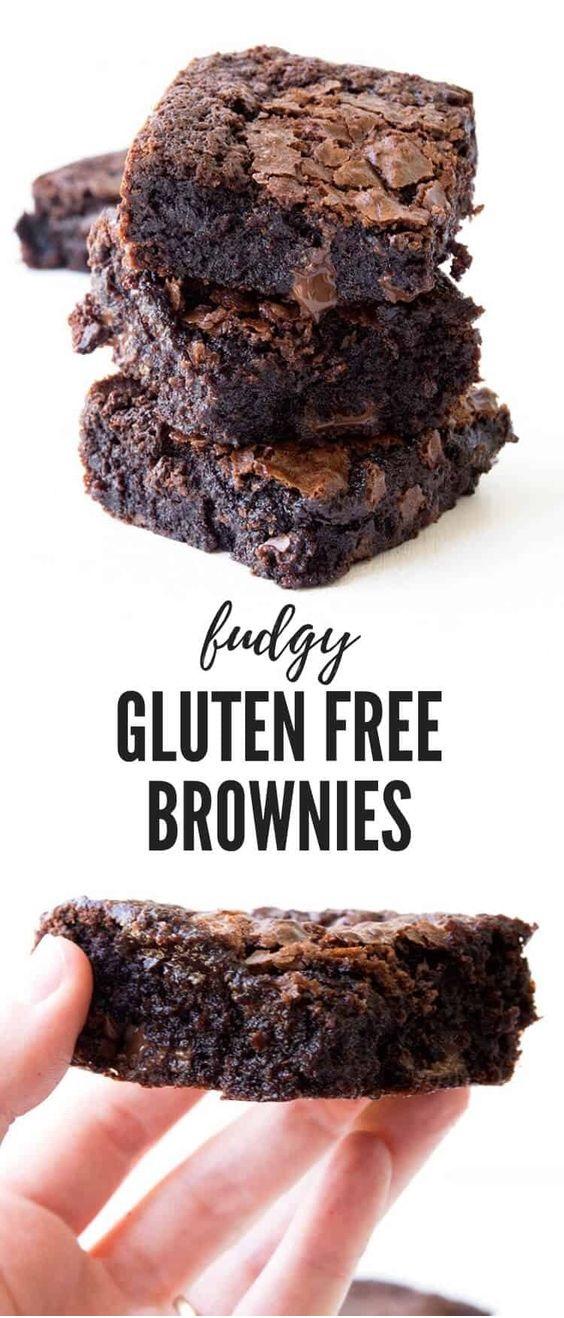 Easy Fudgy Gluten Free Brownies