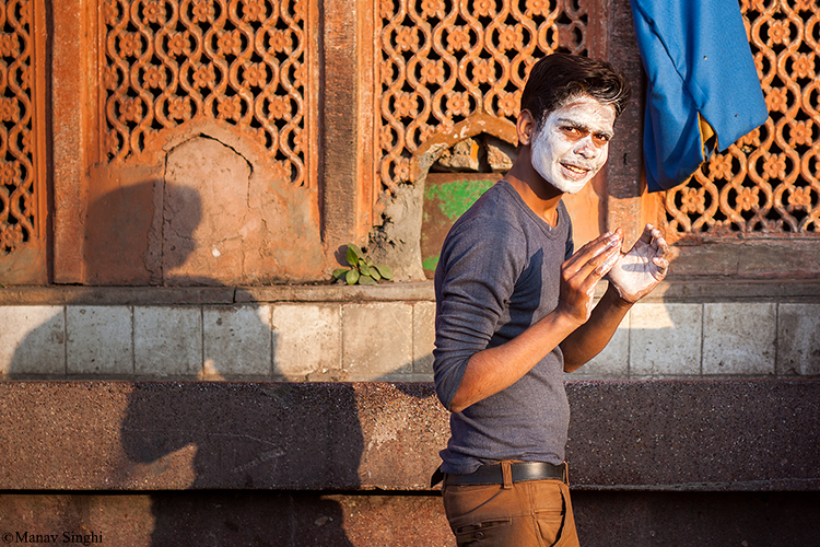 Caught in Act, Street Photography Jaipur.