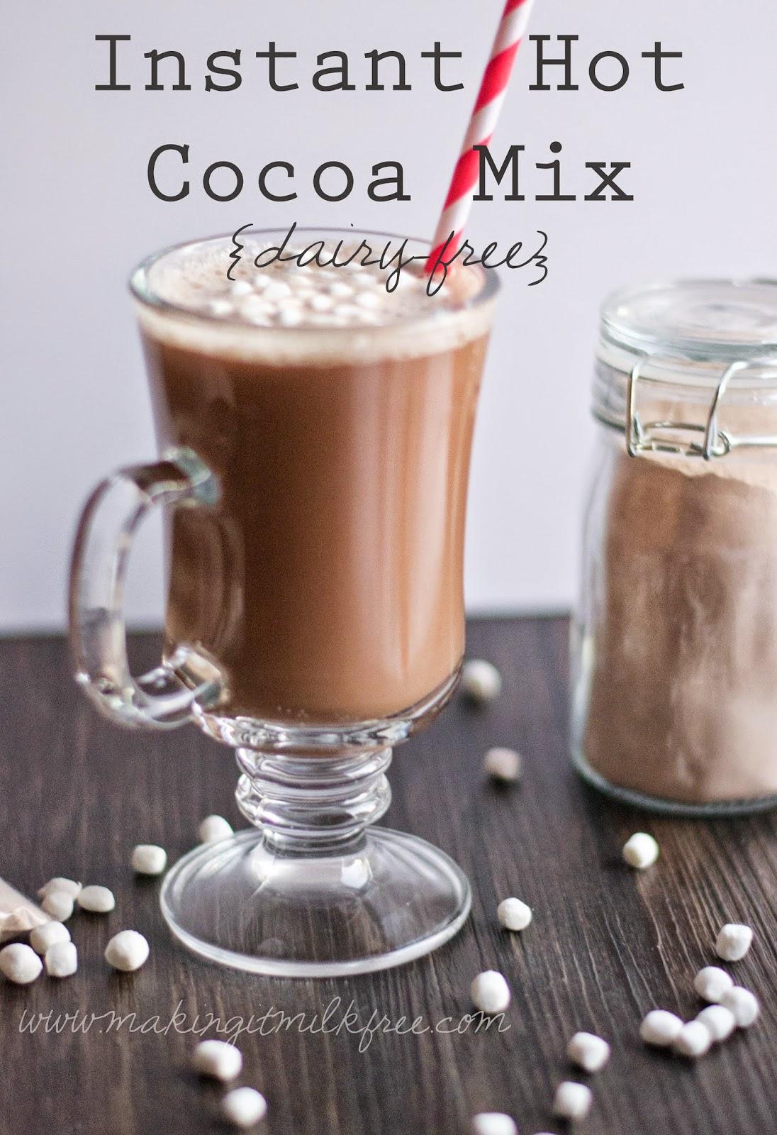 #dairyfree #hotcocoa