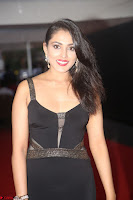 Madhu Shalini in a Glamorous Deep neck Black Sleeveless Dress at Mirchi Music Awards South 2017 ~  Exclusive Celebrities Galleries 040.JPG