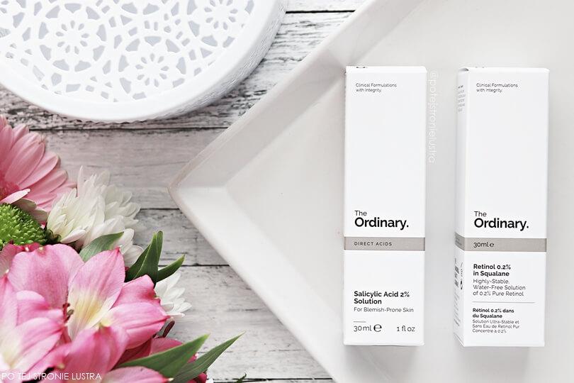 kosmetyki the ordinary serum z 2% kwasem salicylowym i 0,2% retinol