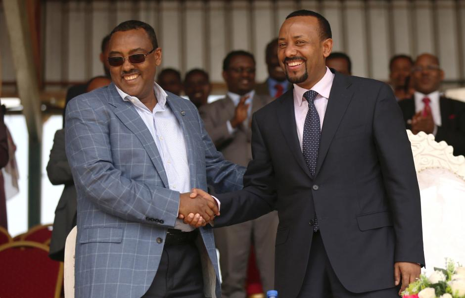 <Dr Abiy And Demeke Re-Elected As Chairperson And Deputy Chairperson Of EPRDF, Respectively