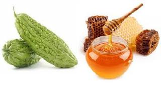 Pare dan madu bisa anda gunakan sebagai  Obat herbal untuk asma dari pare dan madu