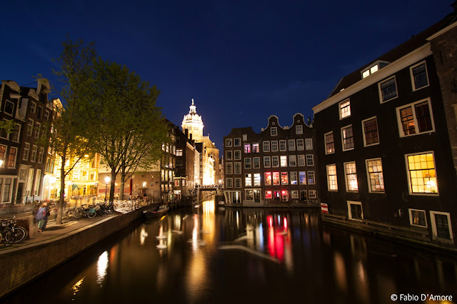 Quartiere a luci rosse-Red light district-Amsterdam