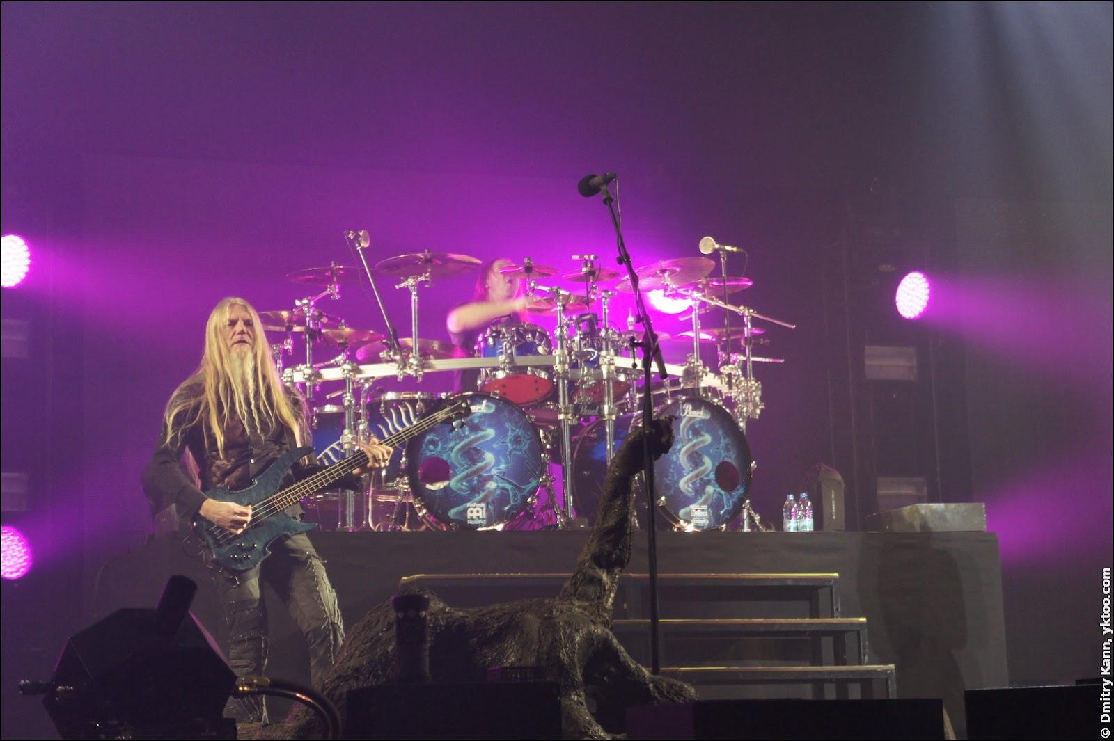 Nightwish: Marco Hietala и Kai Hahto.