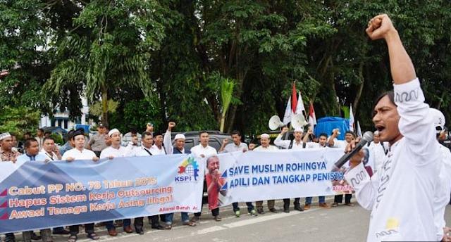 Perserikatan Buruh Aceh Minta PP 78 Dicabut