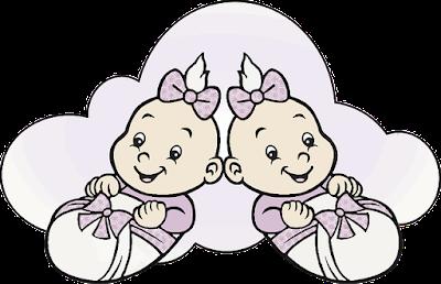 Two Cartoon Babies