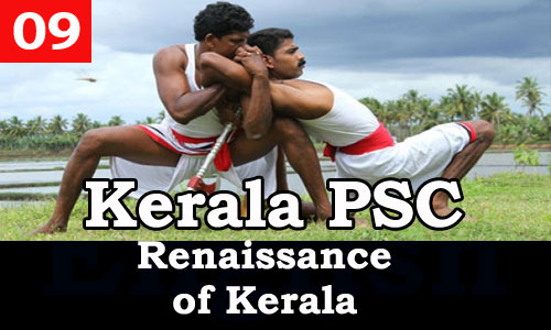 Kerala PSC - Facts about Renaissance of Kerala - 09
