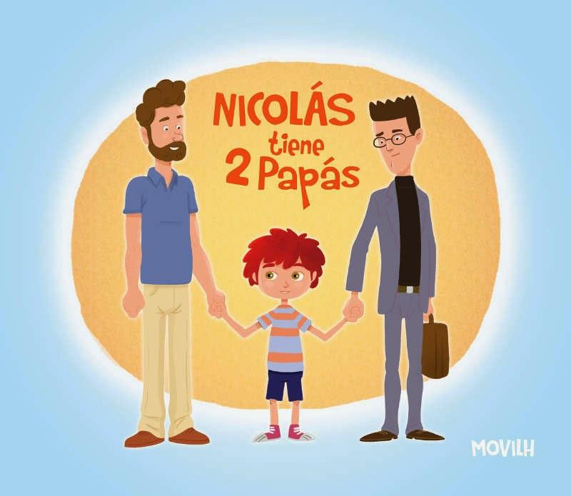 Nicolás tiene dos papás