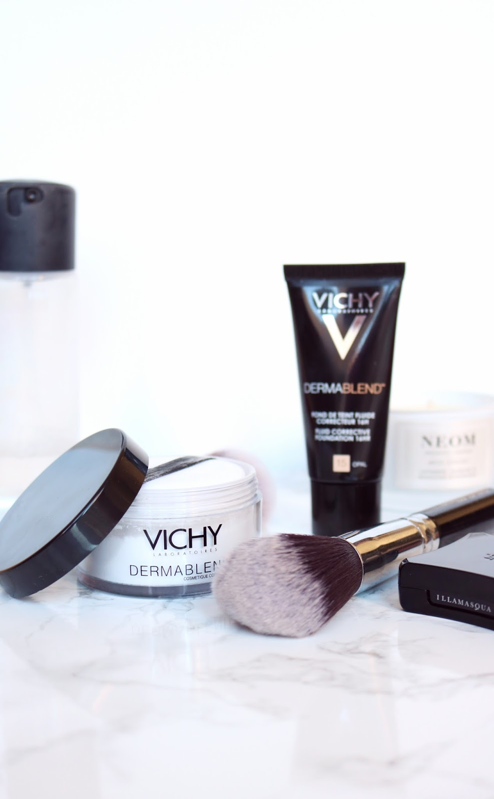 Vichy Dermablend Foundation and Loose Powder